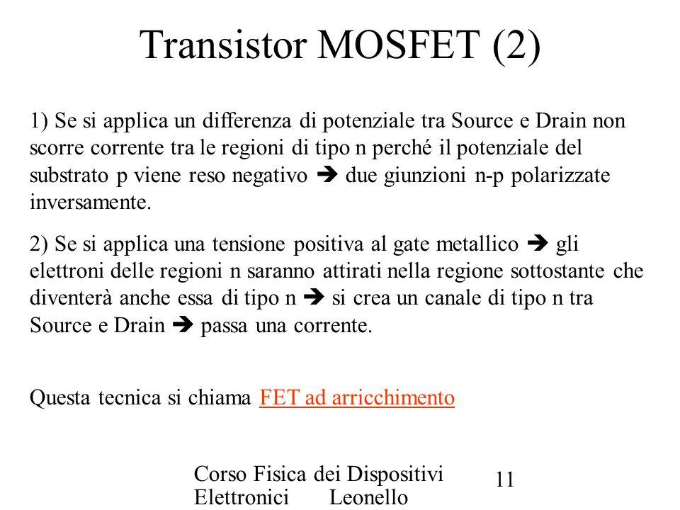Transistor MOSFET (2)