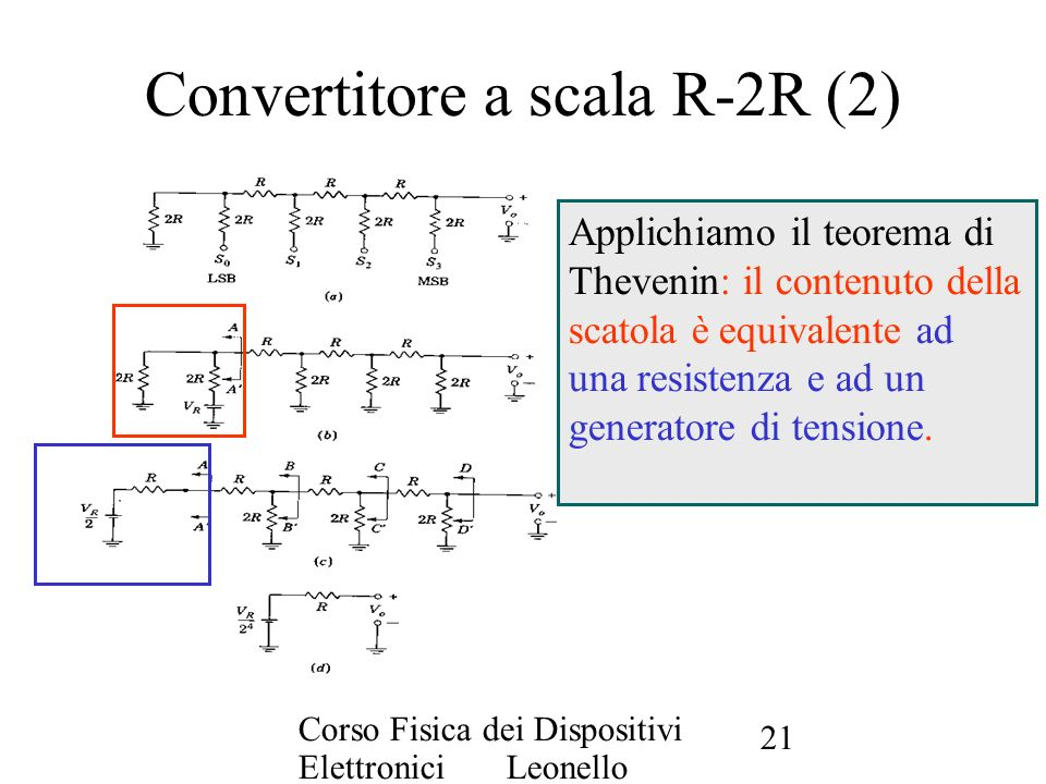 Convertitore a scala R-2R (2)