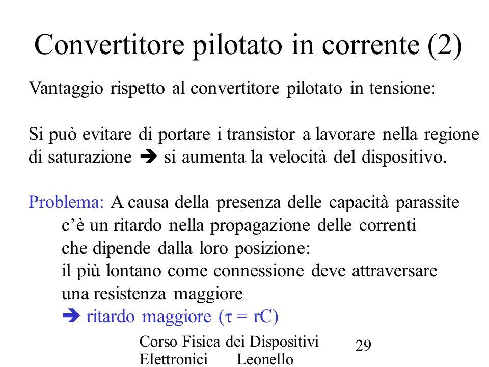 Convertitore pilotato in corrente (2)