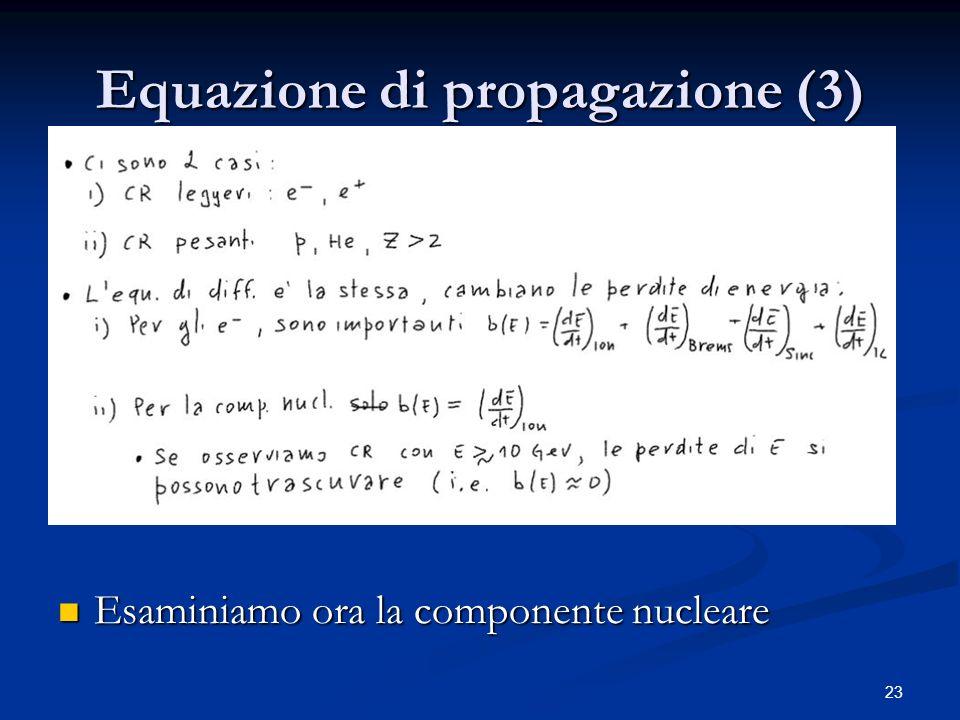 Equazione di propagazione (3)