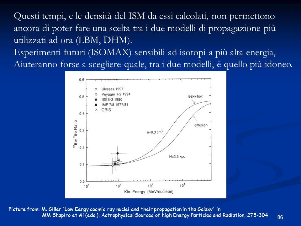 Esperimenti futuri (ISOMAX) sensibili ad isotopi a più alta energia,