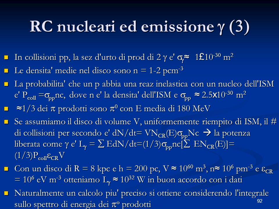 RC nucleari ed emissione  (3)