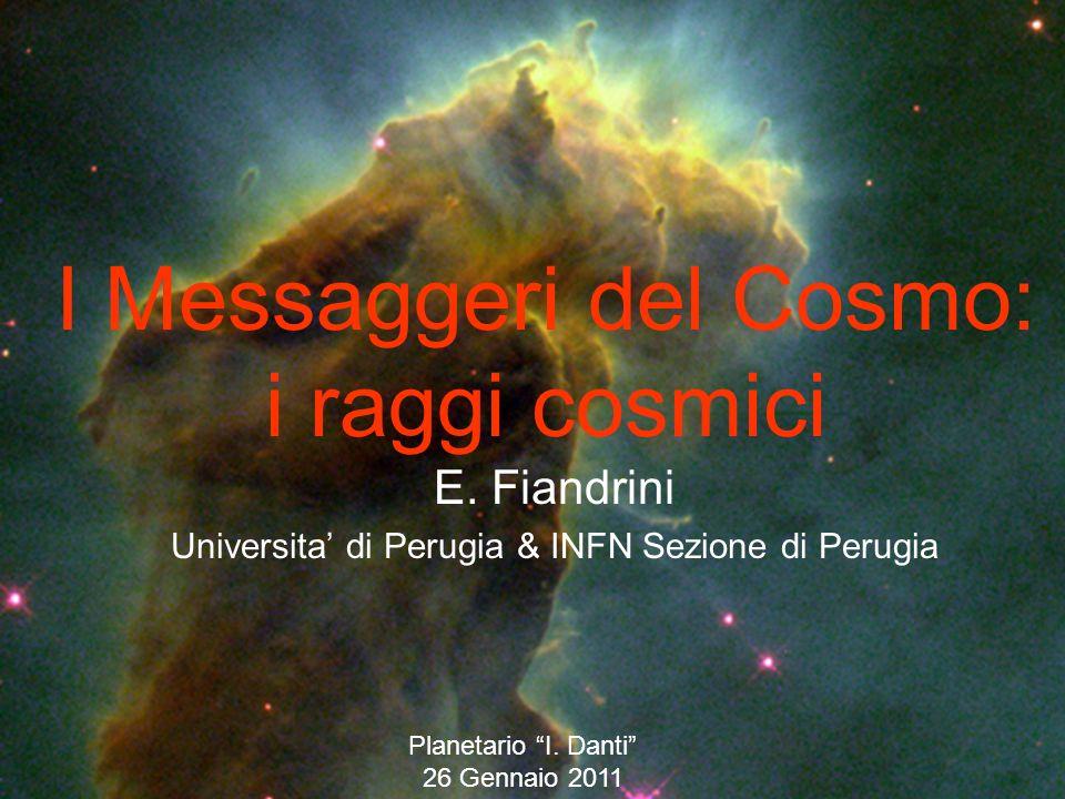 I Messaggeri del Cosmo: i raggi cosmici