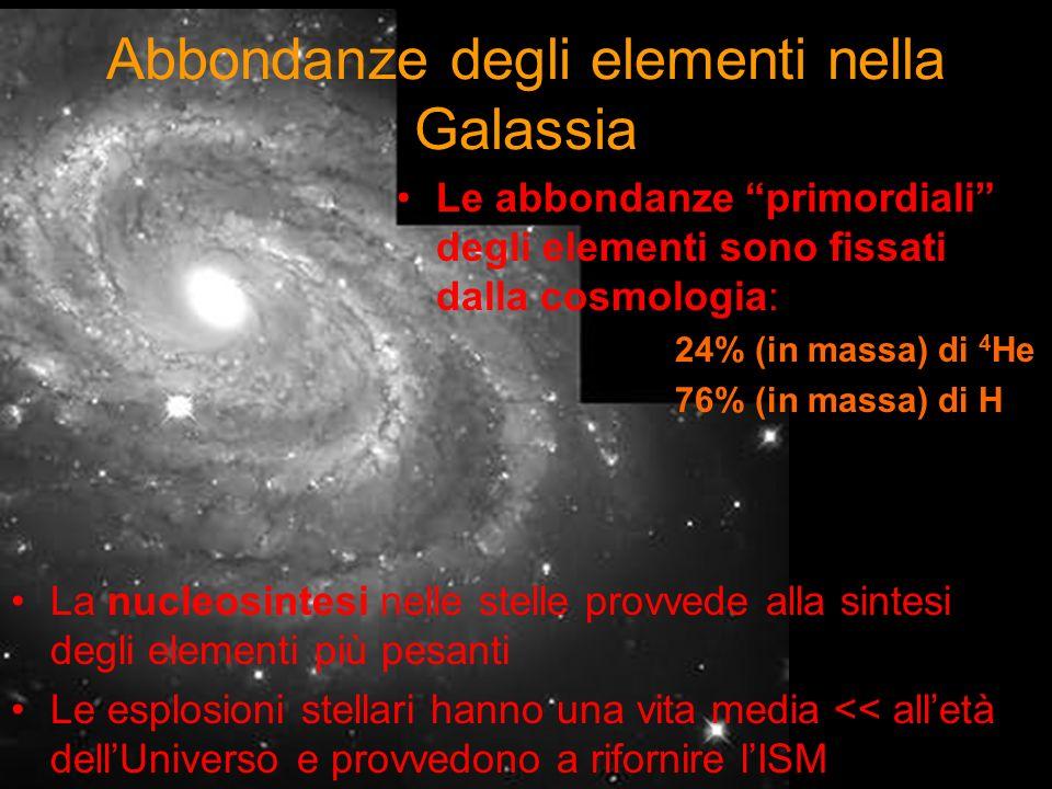 Abbondanze degli elementi nella Galassia