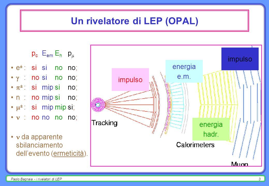 Un rivelatore di LEP (OPAL)