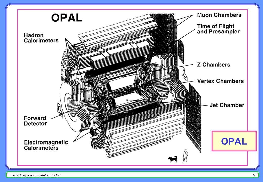 OPAL Paolo Bagnaia - i rivelatori di LEP