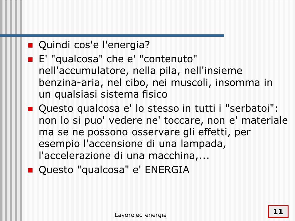 Questo qualcosa e ENERGIA