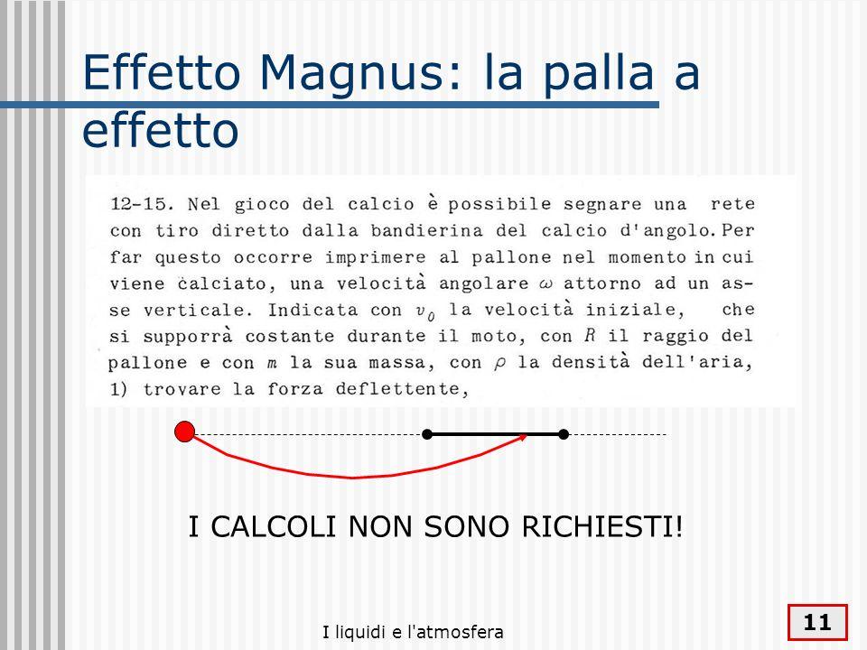 Effetto Magnus: la palla a effetto