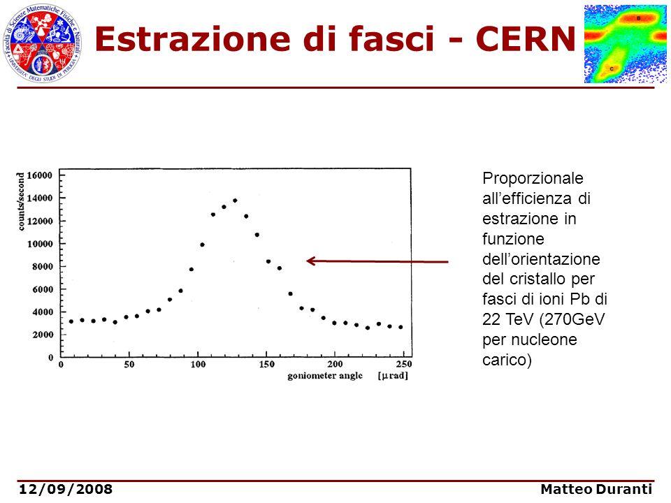 Estrazione di fasci - CERN