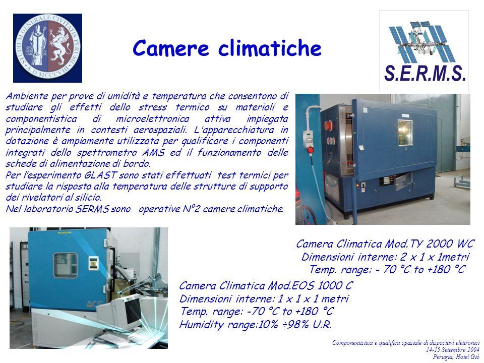 Camere climatiche Camera Climatica Mod.TY 2000 WC