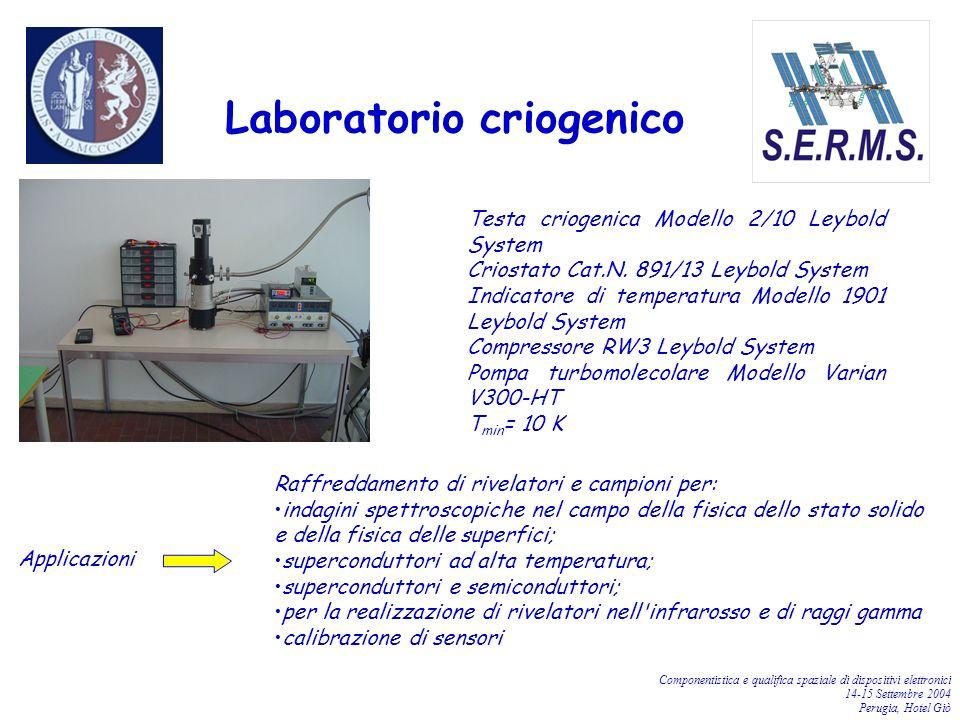 Laboratorio criogenico