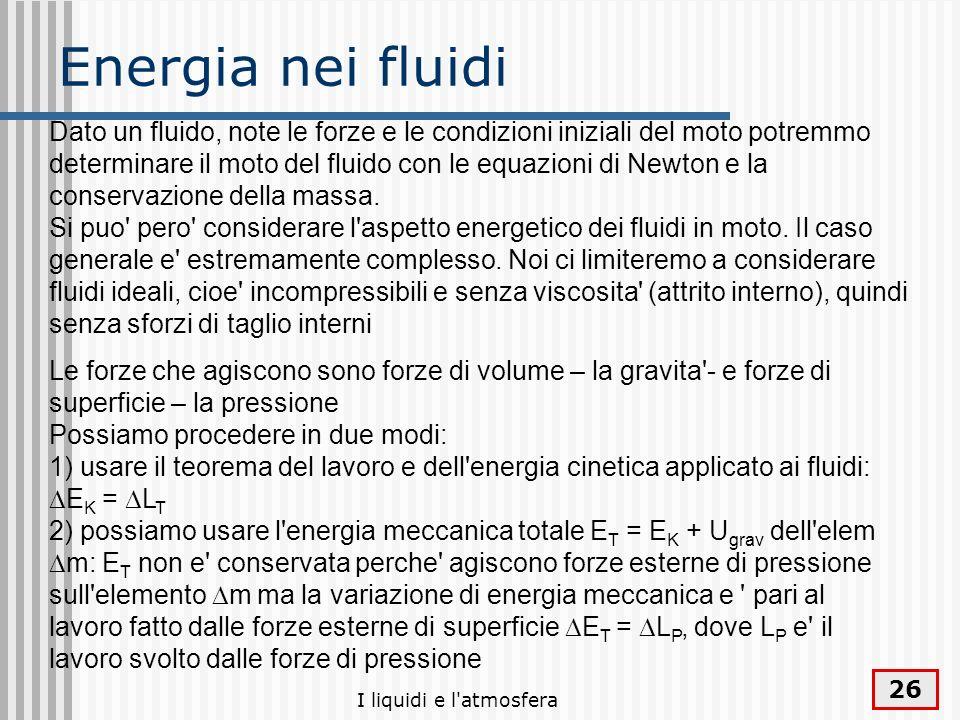 Energia nei fluidi