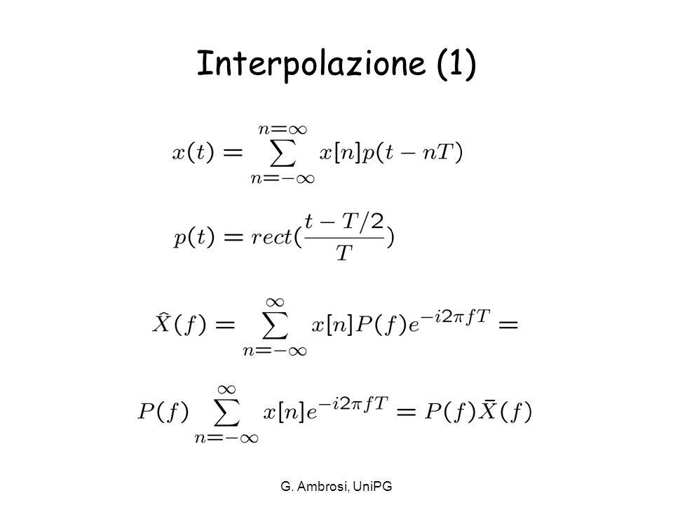 Interpolazione (1) G. Ambrosi, UniPG