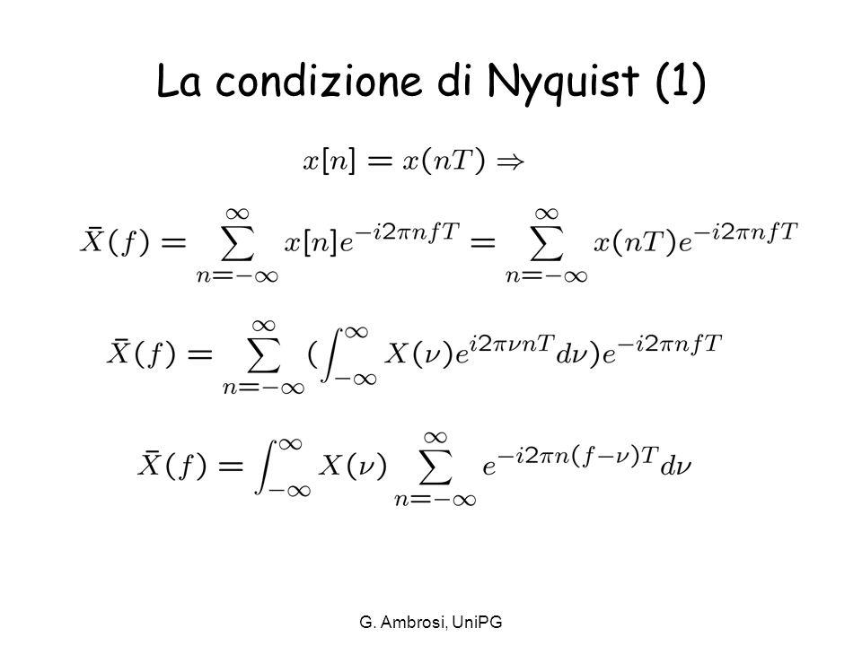 La condizione di Nyquist (1)