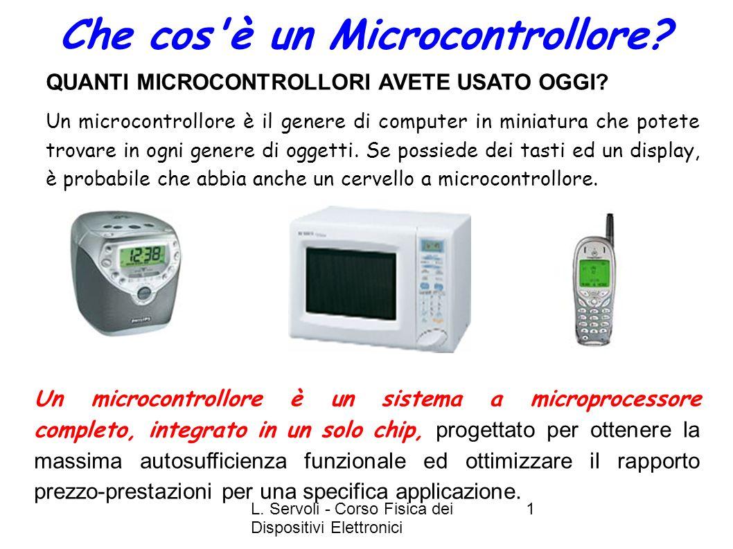 Che cos è un Microcontrollore