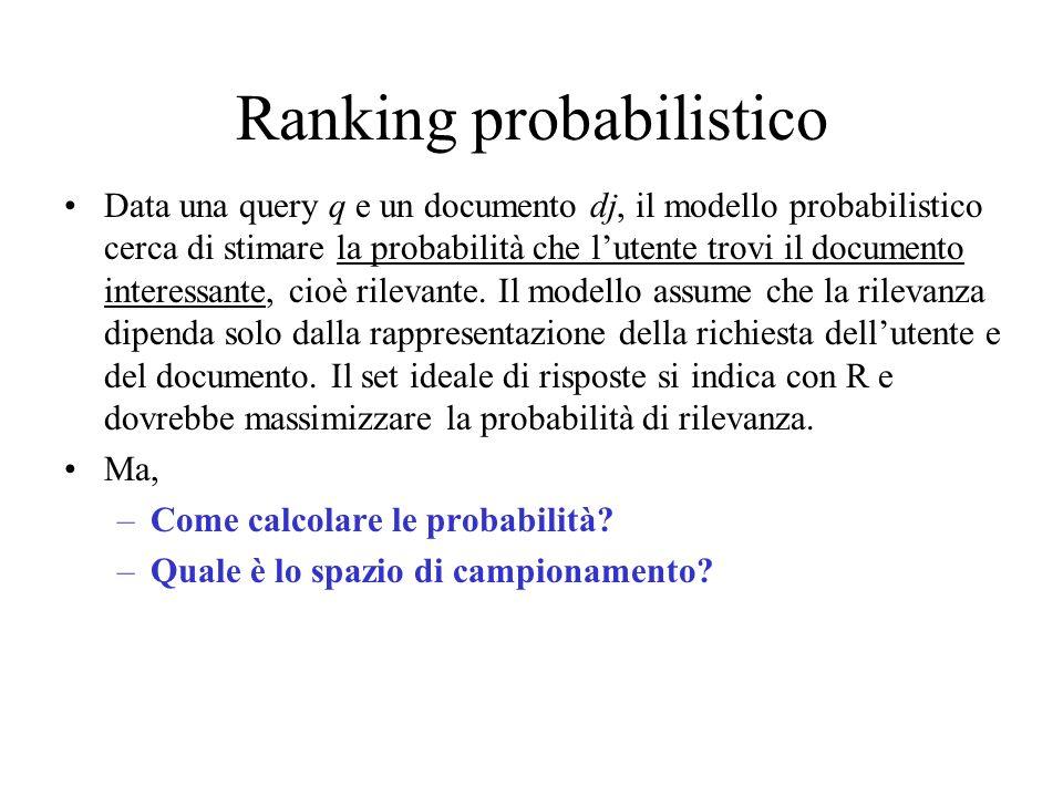 Ranking probabilistico