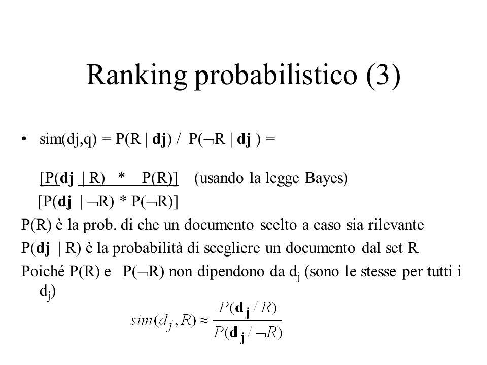 Ranking probabilistico (3)