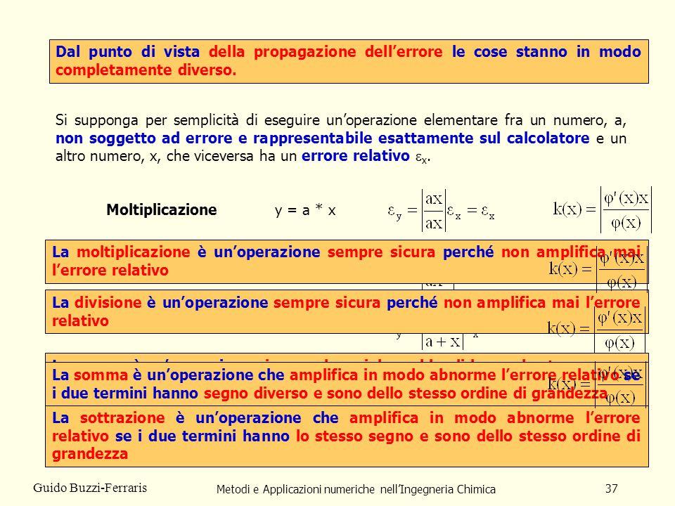Metodi e Applicazioni numeriche nell'Ingegneria Chimica