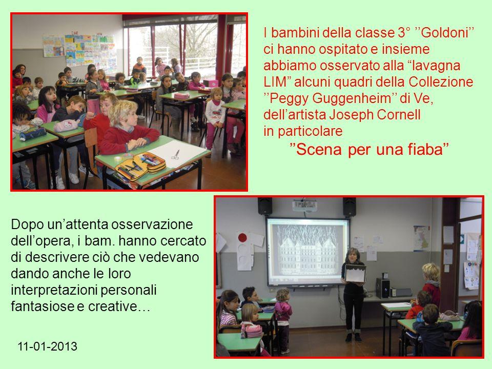 I bambini della classe 3° ''Goldoni''