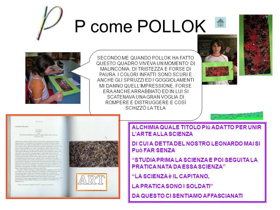 P come POLLOK