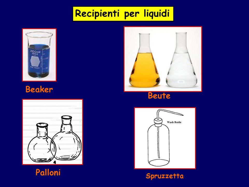 Recipienti per liquidi