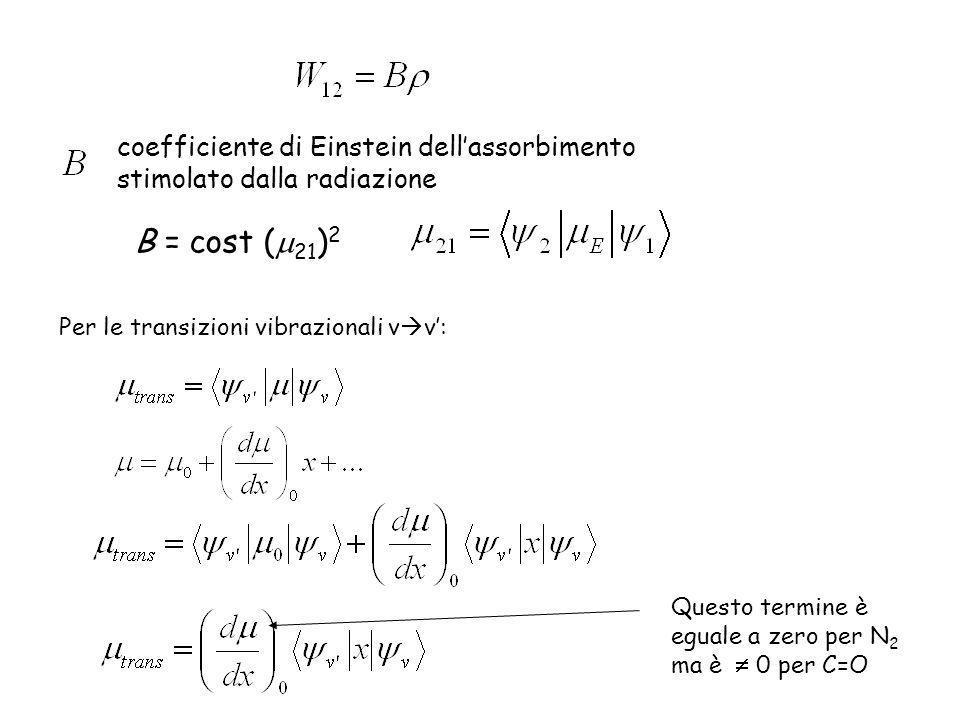 coefficiente di Einstein dell'assorbimento stimolato dalla radiazione