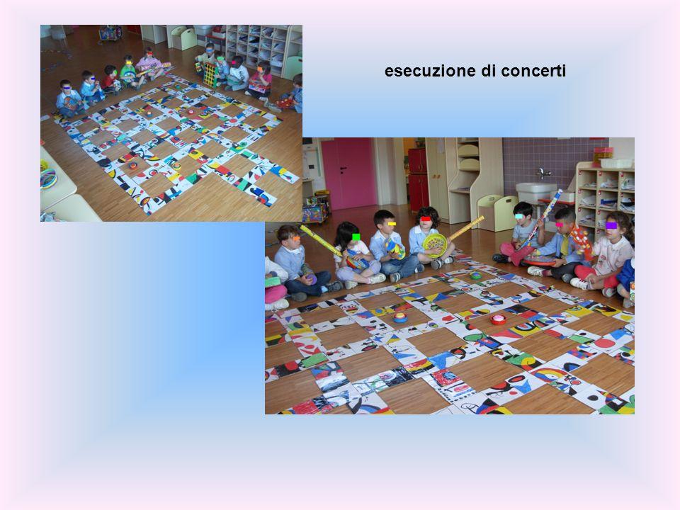 esecuzione di concerti