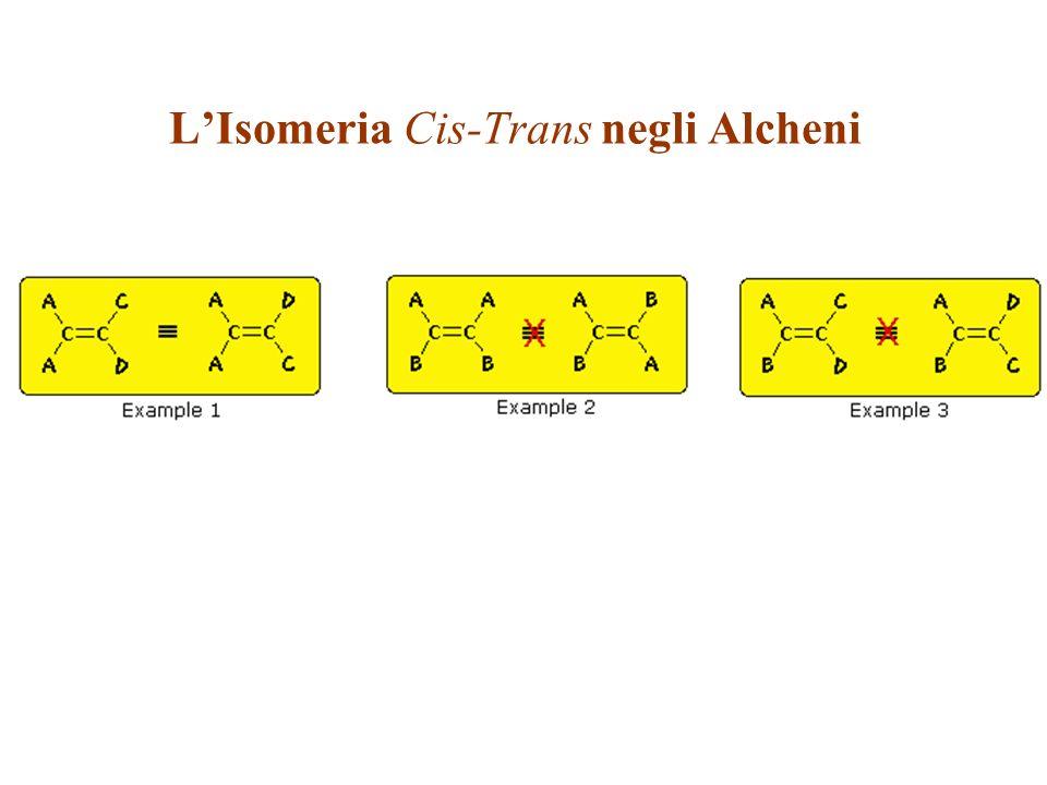 L'Isomeria Cis-Trans negli Alcheni