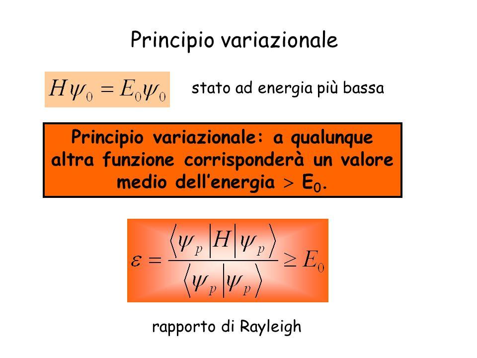 Principio variazionale