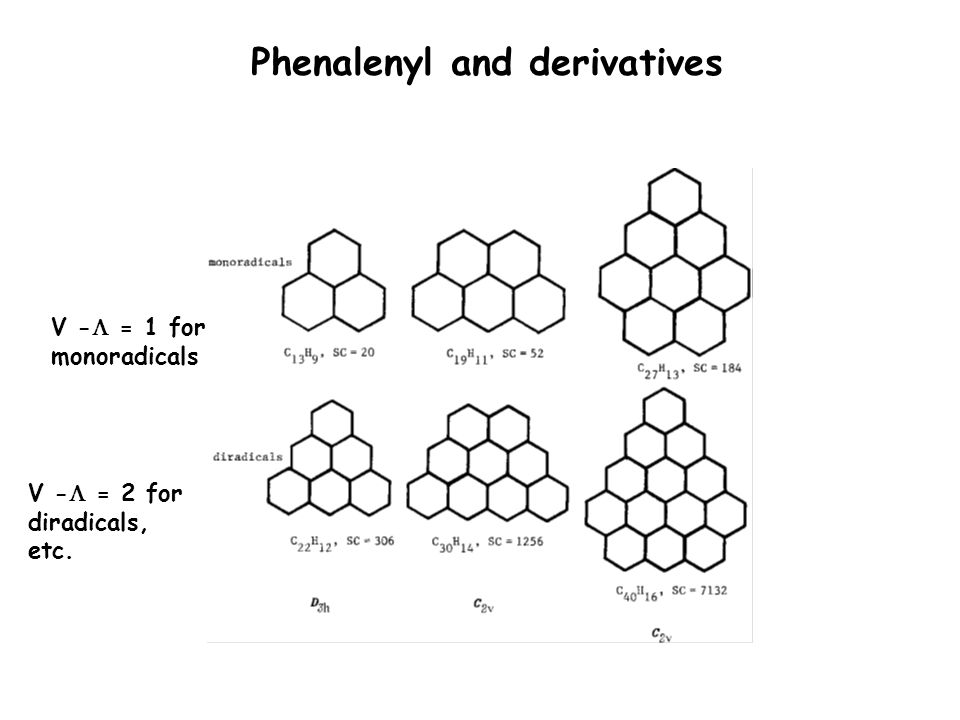Phenalenyl and derivatives