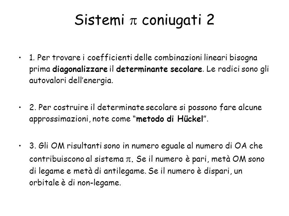 Sistemi  coniugati 2