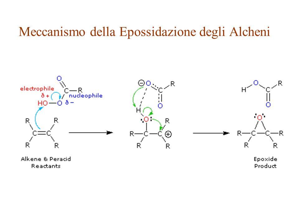 Meccanismo della Epossidazione degli Alcheni
