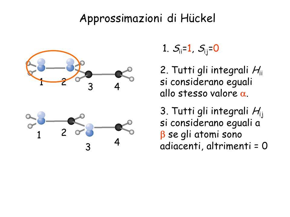 Approssimazioni di Hückel