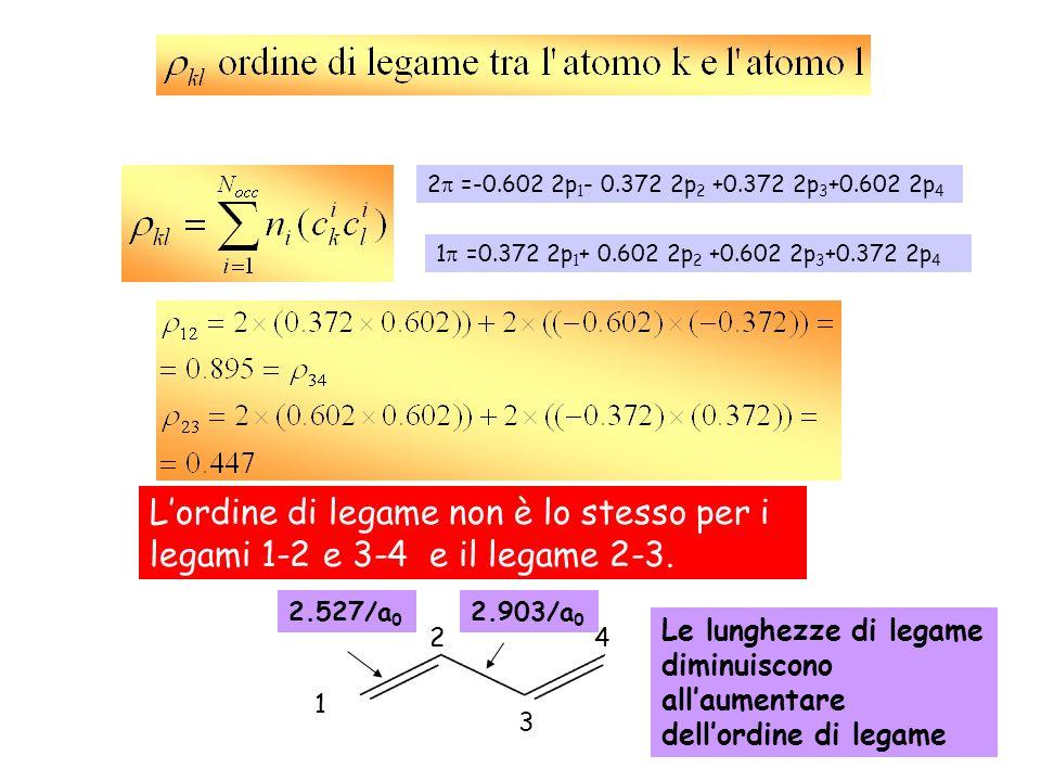 1 =0.372 2p1+ 0.602 2p2 +0.602 2p3+0.372 2p4 2 =-0.602 2p1- 0.372 2p2 +0.372 2p3+0.602 2p4.