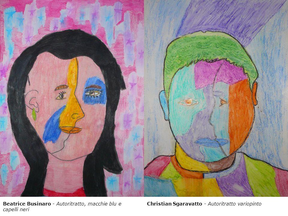 Beatrice Businaro - Autoritratto, macchie blu e