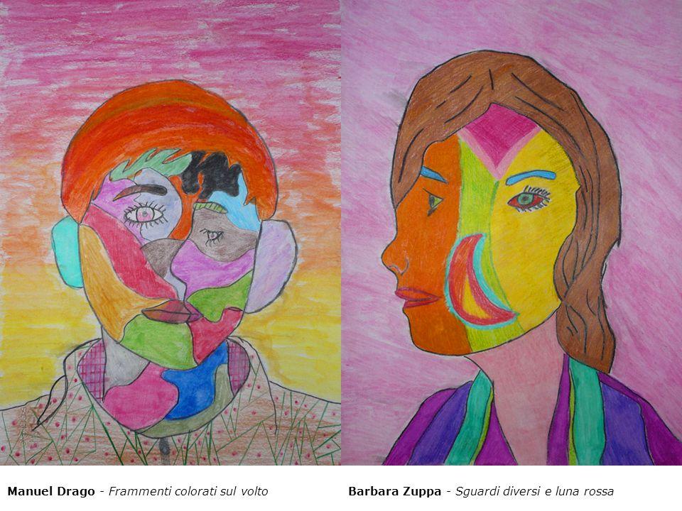 Manuel Drago - Frammenti colorati sul volto