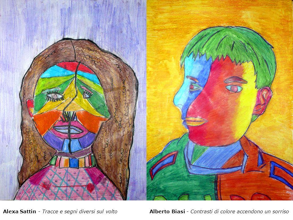 Alexa Sattin - Tracce e segni diversi sul volto