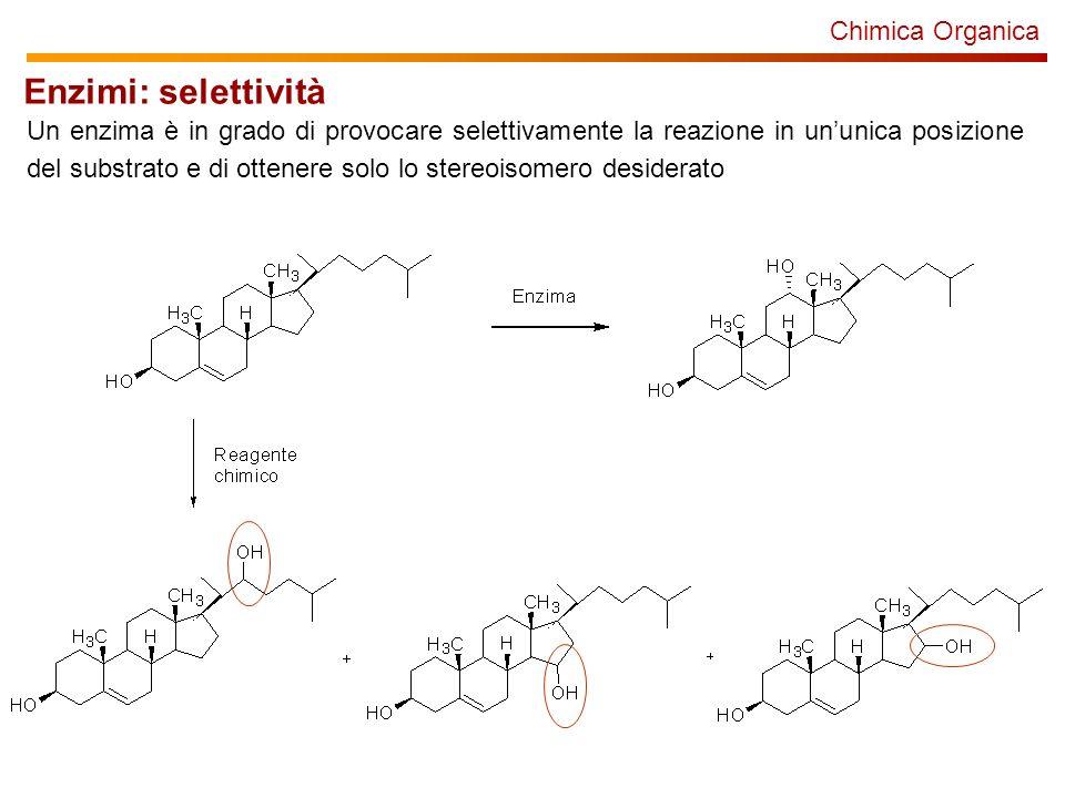 Enzimi: selettività Chimica Organica