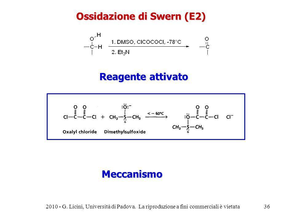 Ossidazione di Swern (E2)