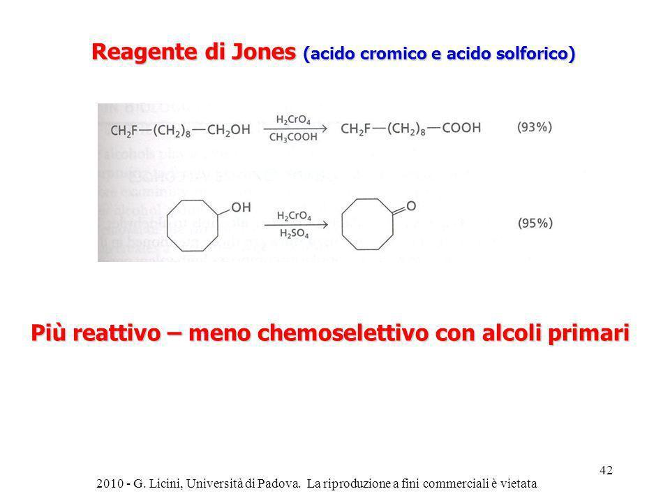 Reagente di Jones (acido cromico e acido solforico)