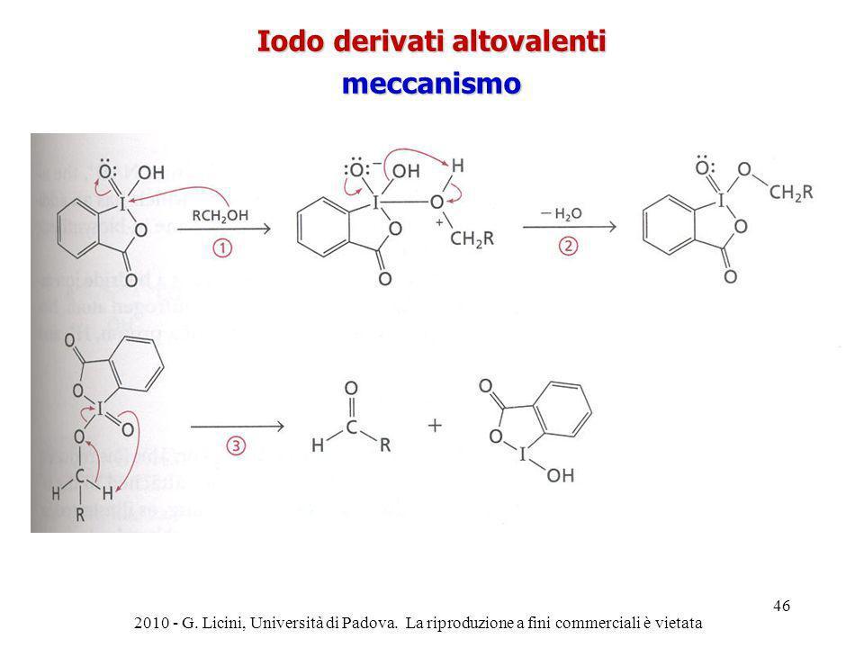 Iodo derivati altovalenti