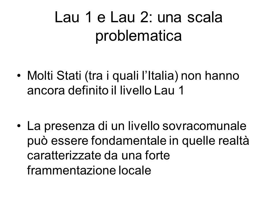 Lau 1 e Lau 2: una scala problematica
