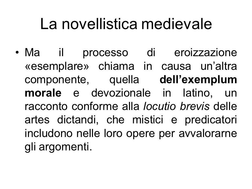 La novellistica medievale