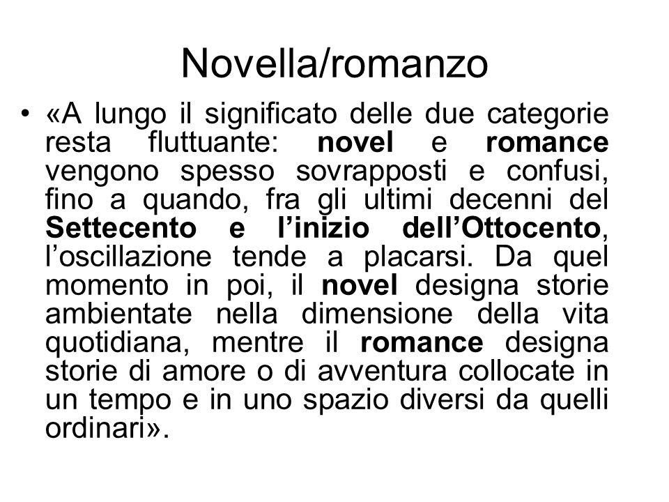 Novella/romanzo