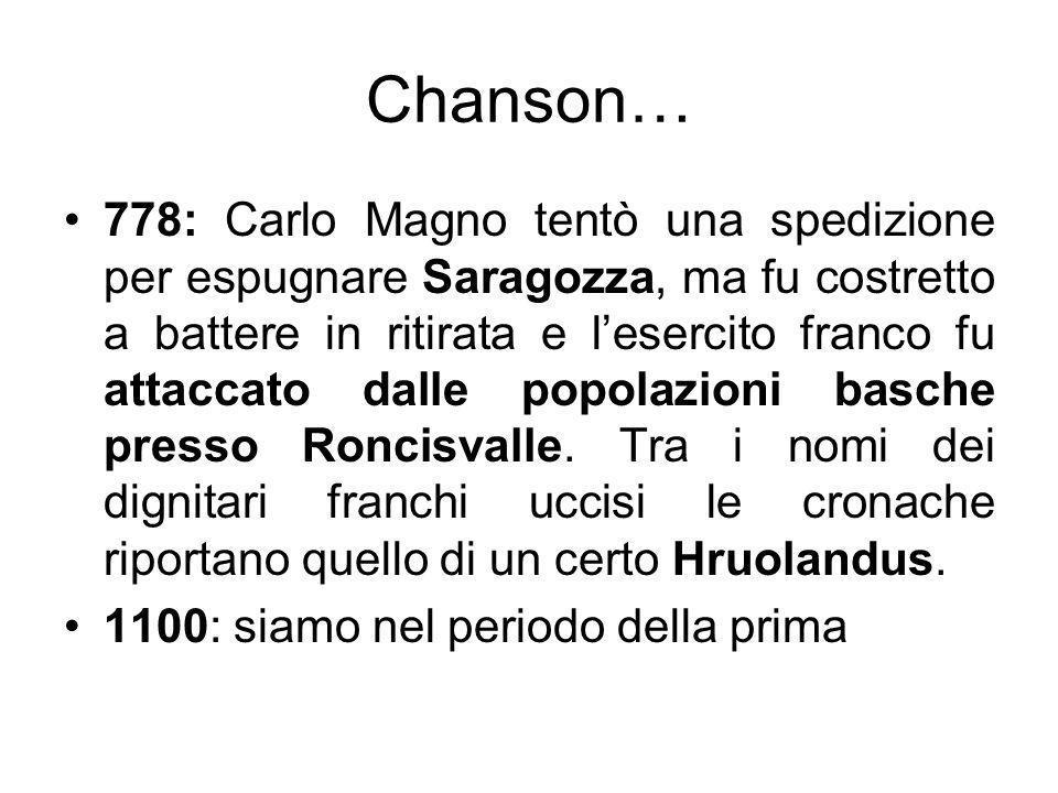 Chanson…