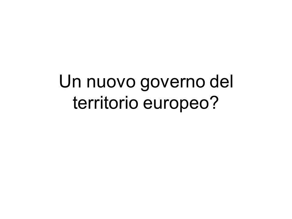 Un nuovo governo del territorio europeo