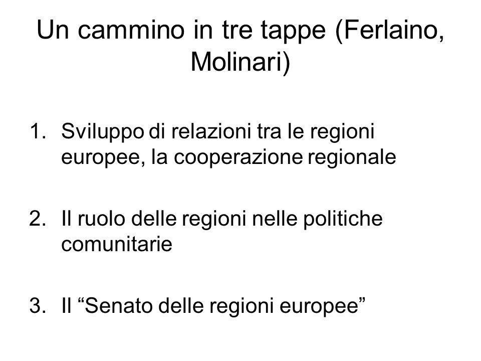 Un cammino in tre tappe (Ferlaino, Molinari)