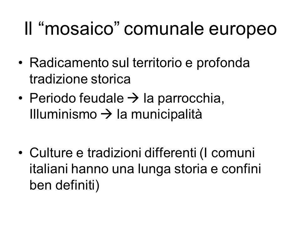 Il mosaico comunale europeo