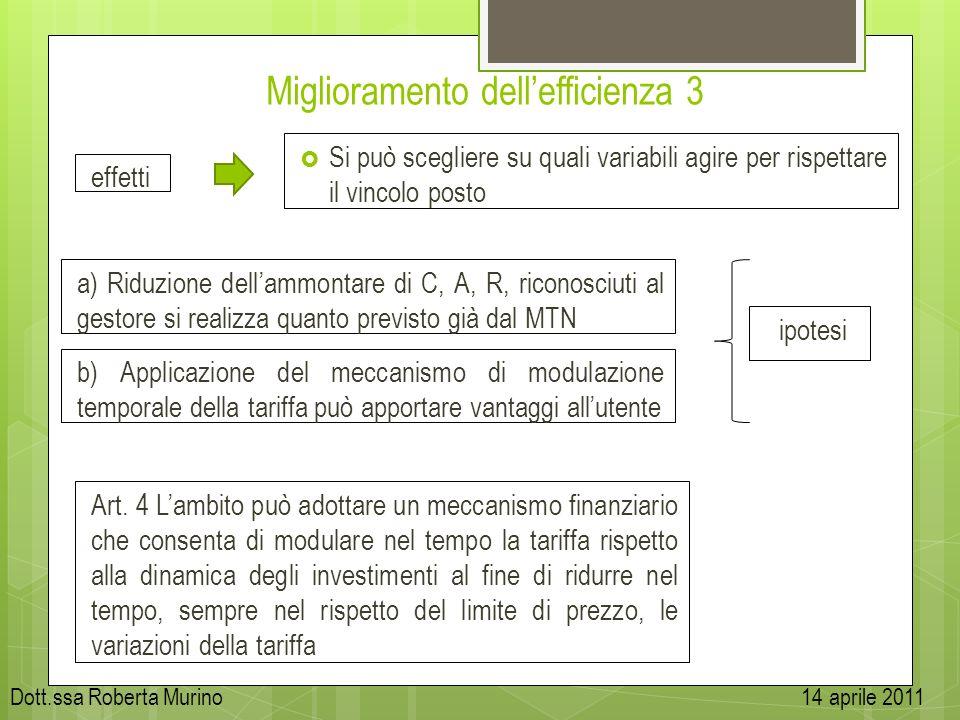 Miglioramento dell'efficienza 3