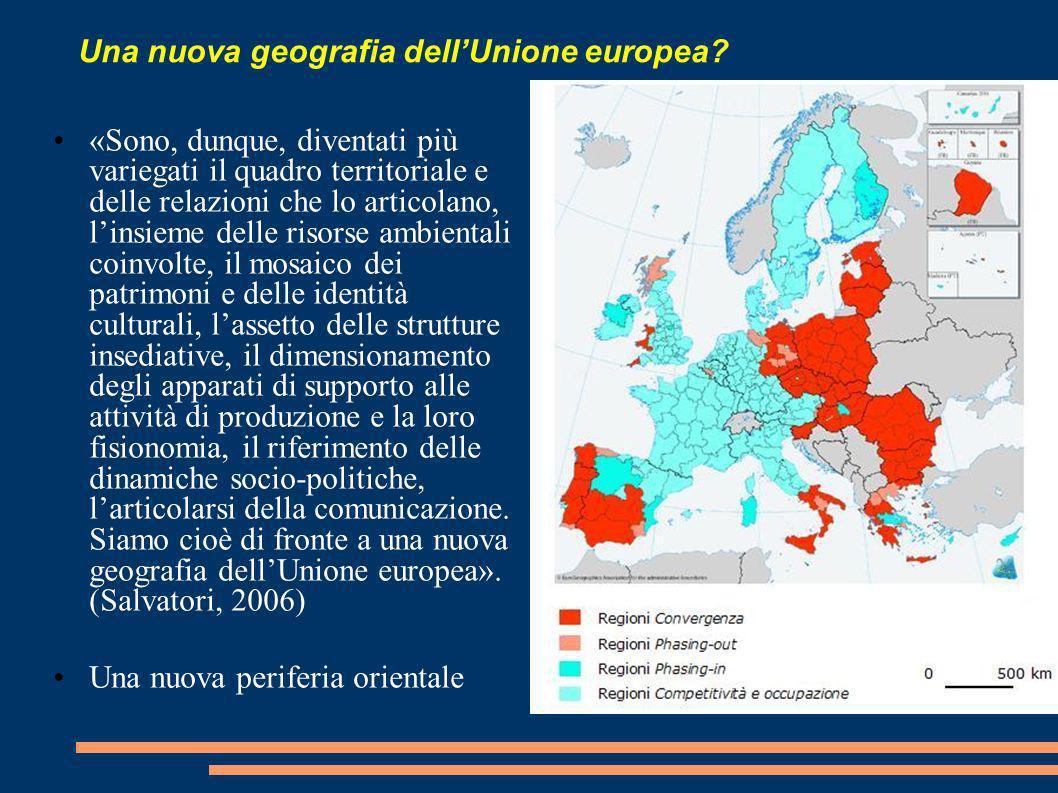 Una nuova geografia dell'Unione europea